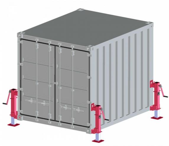 Container box per protezione civile container croce rossa for Container house prezzi