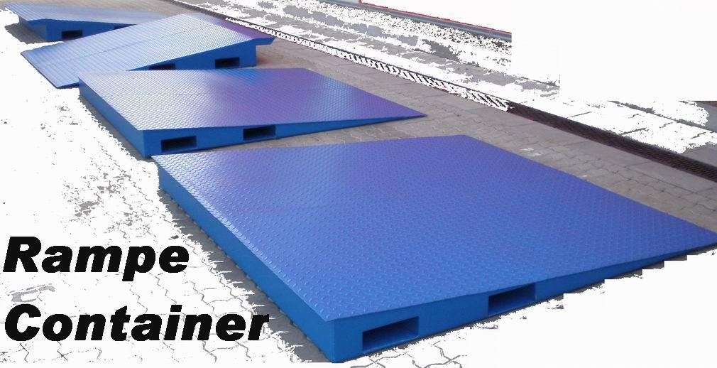 Rampe per caricare container for Rampe di carico per container